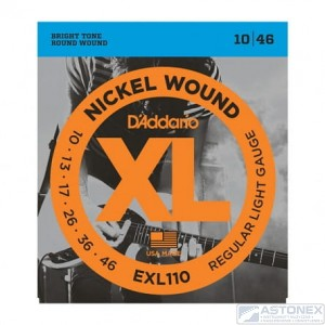 D'addario EXL110 - XL Nickel Wound - 10-46