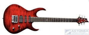 VGS Radioactive Cherry Burst Evertune True Temp
